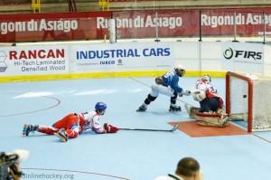 El seleccionado nacional cayó derrotado por 7 a 2 ante el último campeón del mundo República Checa.